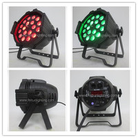 A High Quality Sound Control Dj Equipment Par Led Zoom Can Lights 18x15w Rgbaw 5in1