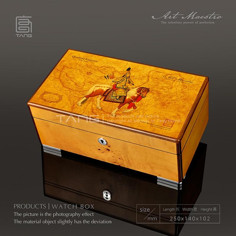 Organzer Amarelo Com Bloqueio Caixa de Jóias Das Senhoras WB062
