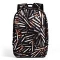 Прохладный teenagerschool Bookbag 3D Печать Рюкзак мужские Рюкзаки Ранцы опрятный Девушки Студент Колледжа Сумки На Ремне,