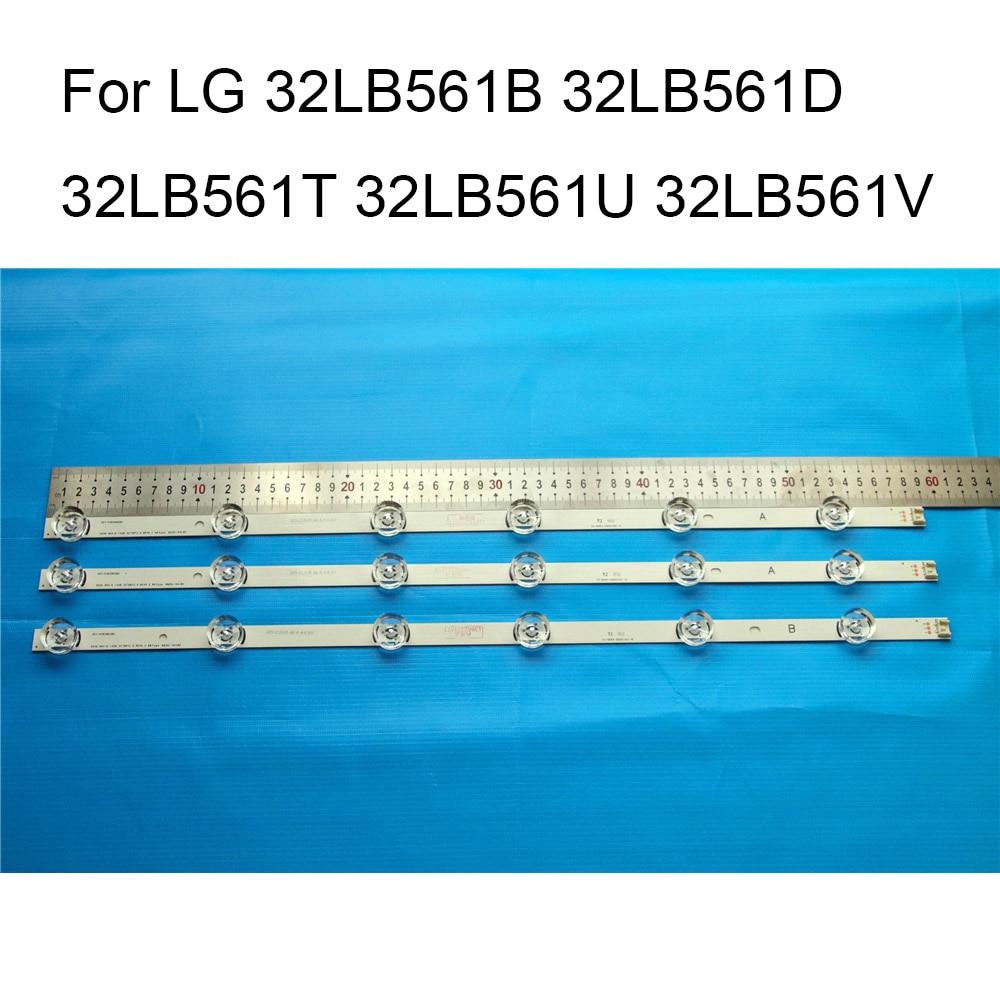 Brand New LED Backlight Strip For LG 32LB561U 32LB561B 32LB561D 32LB561T 32LB561V TV Repair LED Backlight Strips Bars A B Strip