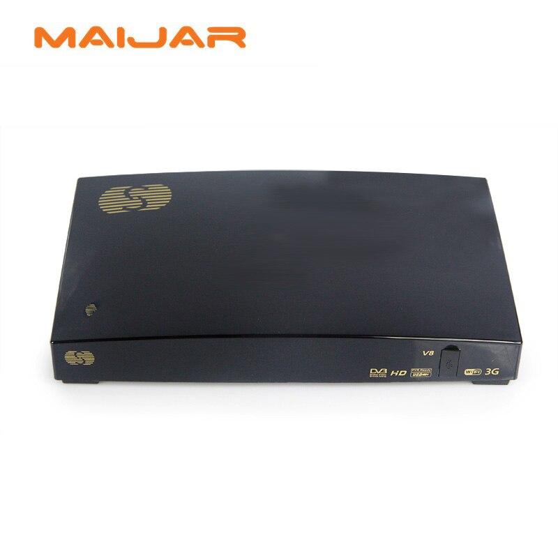 ФОТО TV BOX  V8 Digital Satellite Receiver S V8 S-V8 Support WEBTV Biss Key 2x USB Slot USB Wifi 3G Youporn CCCAMD NEWCAMD S V8