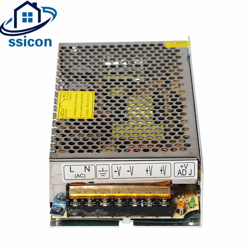 SSICON 12V 10A 120W Switching Power Supply Driver For CCTV Camera System 12V Lighting Transformer For LED Light Power Adapter
