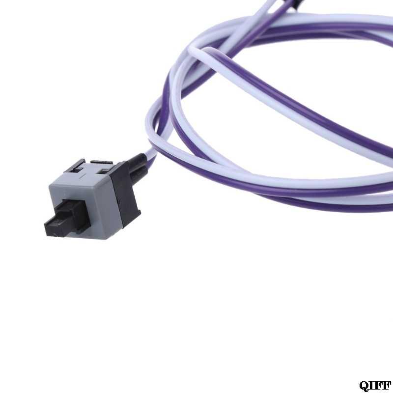 Komputer stancjonarny pulpit ATX zasilanie zasilanie resetuj złącze przełącznika kabla Mar28