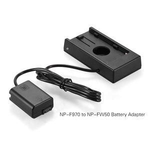 Image 4 - NP F970 Andoer do NP FW50 akumulator płyta montażowa do Sony a7/a7R/a7S/a7II/a3000/a5000/a5100/a6000/a6300/a7s II/a7m II