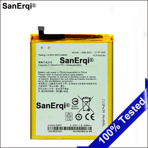C11P1609 Real 4100mAh <font><b>Battery</b></font> For <font><b>ASUS</b></font> Zenfone 3 max 5.5