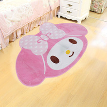 Cartoon Melody 160X100CM Home Soft Fur Rugs Children Girl Fl