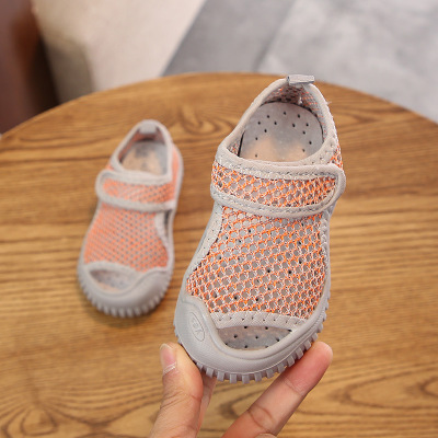 Baby kids Shoes Soft Summer Sandals Casual Shoes Baby Shoes boys Girls Sandals Summer Spring Shoes breathable children sandals in Sandals from Mother Kids