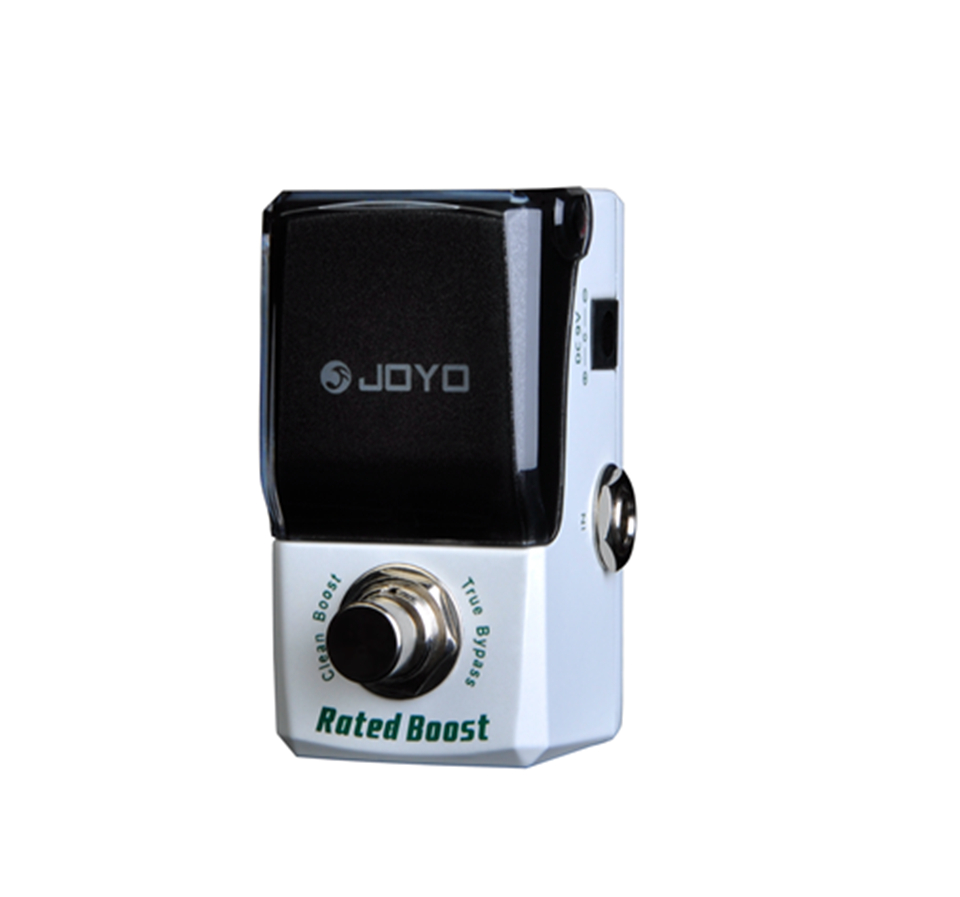 JOYO Guitar Effects Pedal Rated Pure Clean Boost Active Low/High EQ Volume Drive Adjustment True Bypass Design Low Timbre Loss