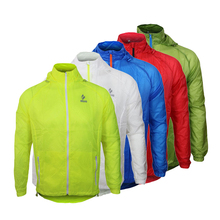 ARSUXEO Men's Breathable Cycling Jersey Running Jacket Outdoor Sports Clothing Coat Fitness Gym Thken Outdoors Clothes
