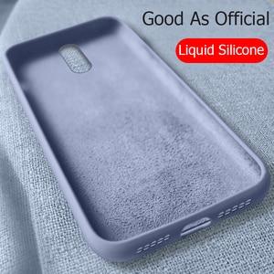 For OnePlus 6T Case Liquid Sil