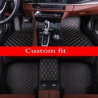 Car floor mats Case for Skoda Octavia Superb Yeti Fabia spaceback 5D heavy duty car styling carpet floor liner