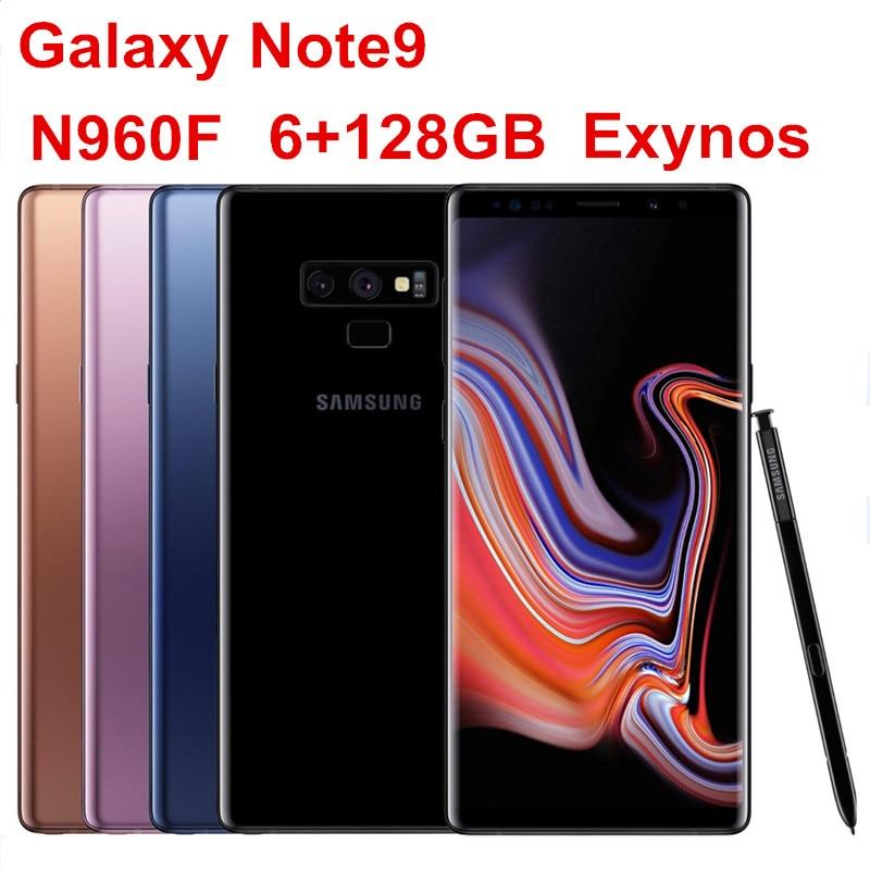 Samsung Exynos 9810 Galaxy Note9 128gb 6gb GSM/WCDMA/LTE Adaptive Fast Charge Wireless Charging