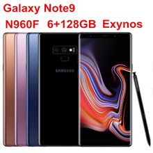 "Samsung Galaxy Note9 Note 9 N960F 128G ROM 6G RAM Original Unlocked LTE Mobile Phone Octa Core 6.4"" Dual 12MP Exynos NFC 4000mAh(China)"