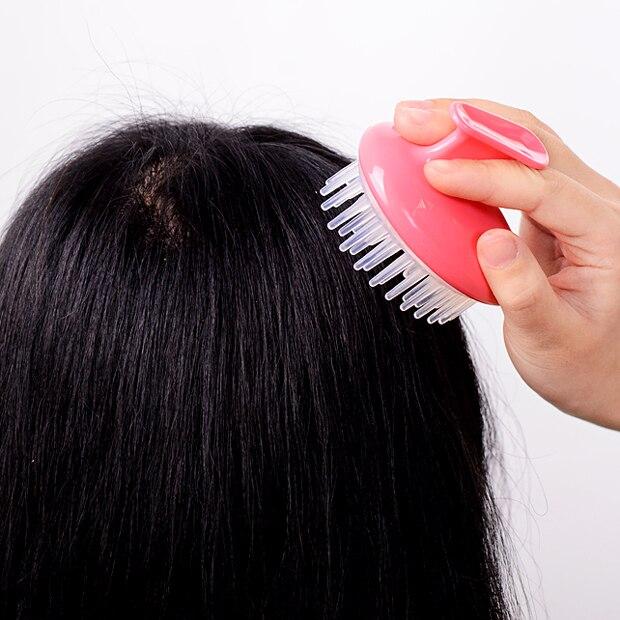Scrub Shampoo Hair Brush To Clean The Scalp Head Massager Bath Wash And Dress Tool Stress Relax Health Therapy Care Body Shampoo Hair Brush Scalp Head Massagerhead Massager Aliexpress