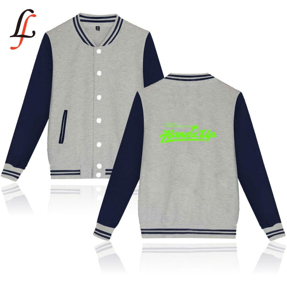 Kpop Baseball Jacket Winter Hoodies Boystory Print Popular Bangtan Hip Hop Harajuku Casual Fashion Women Men Clothing