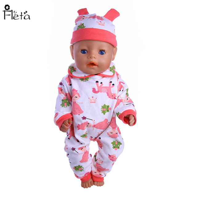 Fleta New Magic Fairy Patterns Jumpsuit Fit 40cm Baby Born Or 40 Unique American Girl Patterns