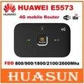Original desbloqueado huawei e5573 e5573s-320 cat4 150 100mbps 4g lte fdd wireless router 3g hotspot wi-fi móvel