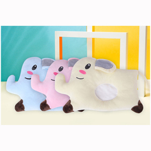 Cotton Pillow Sleeping-Positioner-Support Newborn-Baby Cushion Flat-Head Elephant Pink