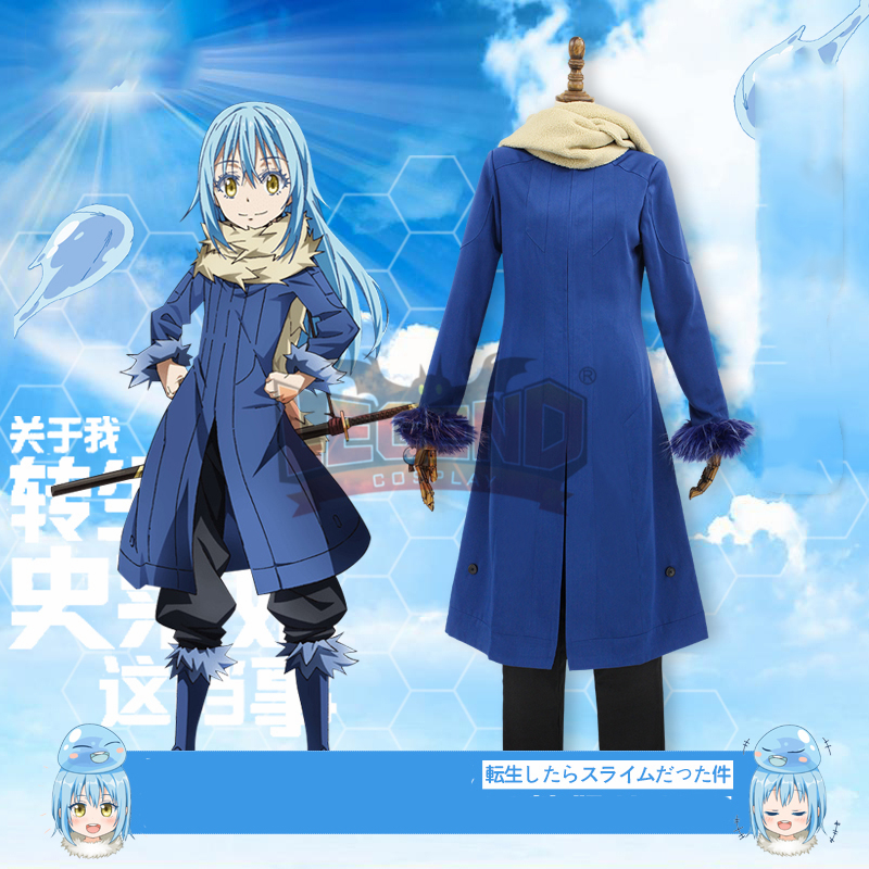 Cosplaylegend That Time I Got Reincarnated as a Slime Rimuru Tempest cosplay adult female adult costume