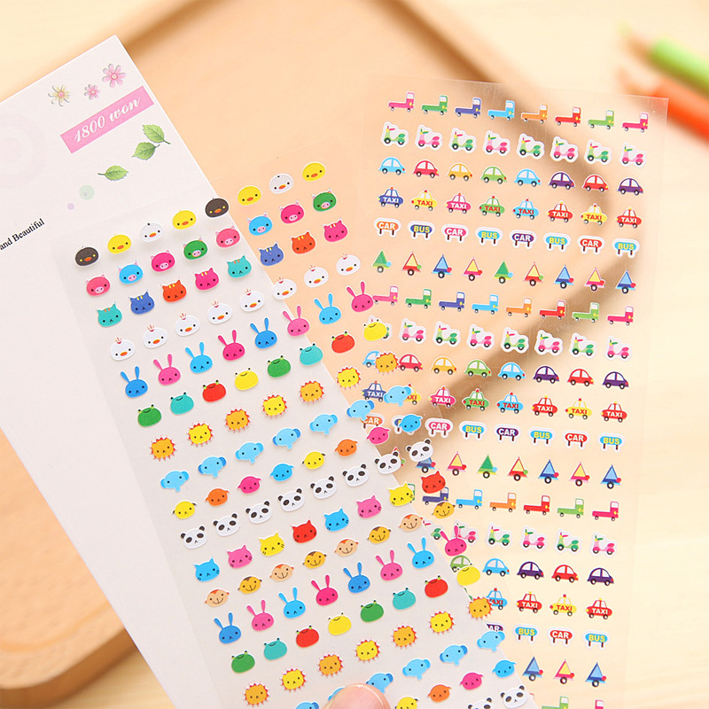 1 PCS Cute Kawaii Cartoon Sticker Popular Style Children Gift Stickers Book Diary Decoration Nail Stickers Phone Stickers ultimate sticker book dangerous dinosaurs