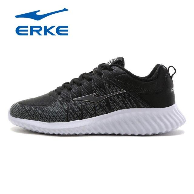 Ерке Демисезонный атлетика кросс-тренинга обувь спортивные кроссовки для мужчин дышащие легкие кроссовки обувь на шнуровке Обувь 2017