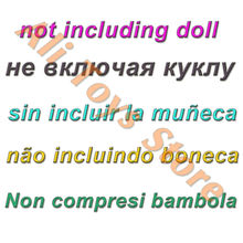 Fashion Black Dress Lemon Pattern Long Sleeves Split Skirt Princess Party Costume Muslim Clothes For Barbie Doll Accessories Toy