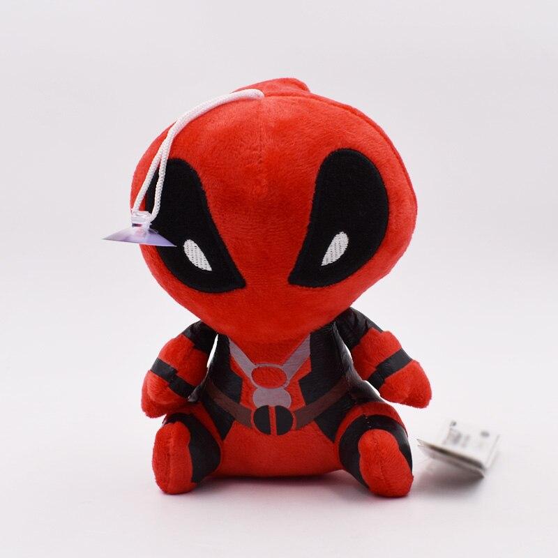 8inch 20cm Deadpool Doll Soft Spiderman Plush Doll Toy Brinquedo Kids Toys For Children