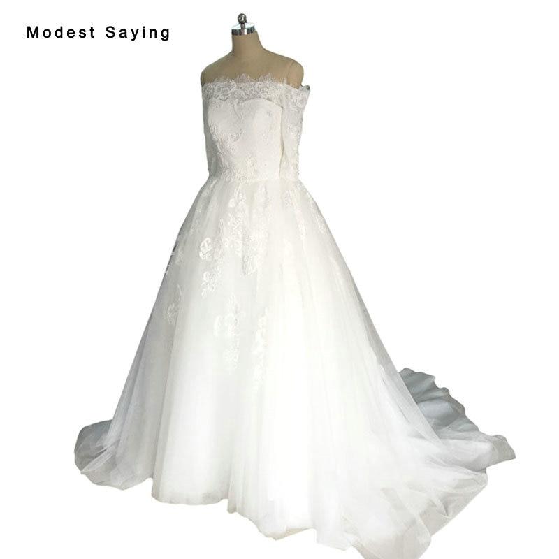 Sexy White Ball font b Gown b font Off Shoulder Lace font b Wedding b font