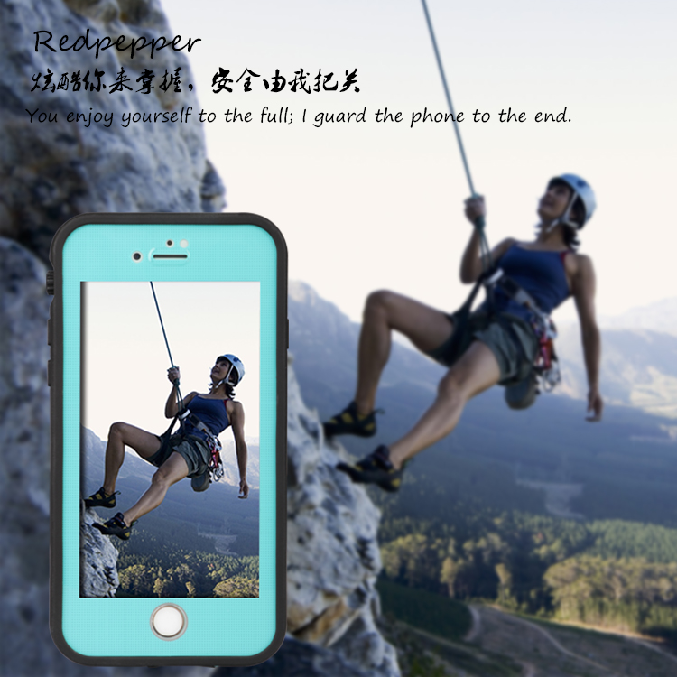 15pcs/pack, Redpepper XLF Waterproof Case For Iphone 7/8Water/Shock/Dirt/Snow Proof, Armor cover for iphone7/8