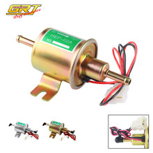 Универсальный Электрический бензиновый насос, болт низкого давления, фиксирующий провод, дизельный бензиновый HEP-02A, металлический Электрический топливный насос 12 В 8 мм FP009