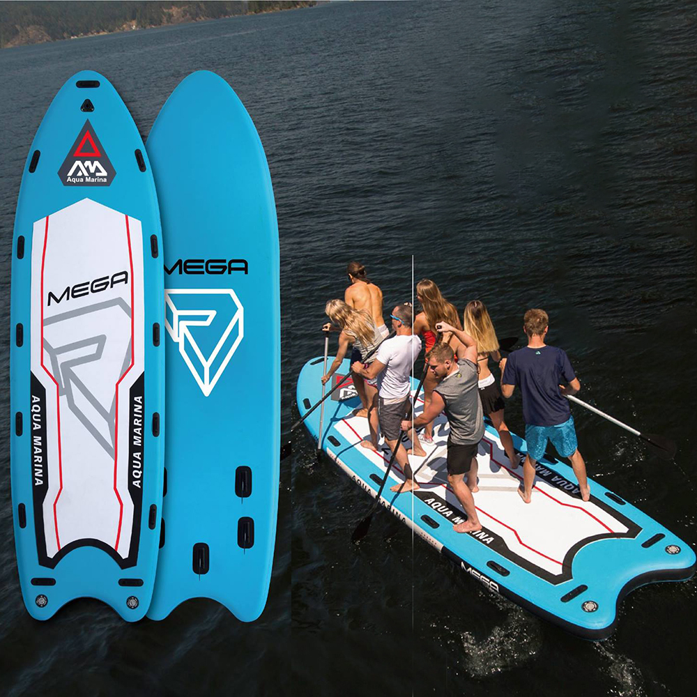 Mega 18'1 inflatable big stand up paddle board for big giant ISUP big stand up 2018 11 23t21 00