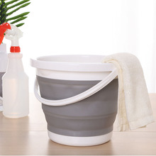 Folding  5L Bucket for Fishing Promotion Car Wash Outdoor Supplies Portable Camping household product Free shipping z04
