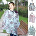 MamaLove Baby Infant Nursing Cover Breathable Cotton Floral Europe Style Wrap Breastfeeding Nursing Cove for Pregnant Women