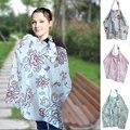Mamalove infantil cubierta enfermería bebé de algodón transpirable estilo Floral de europa Wrap lactancia materna enfermería cala para mujeres embarazadas