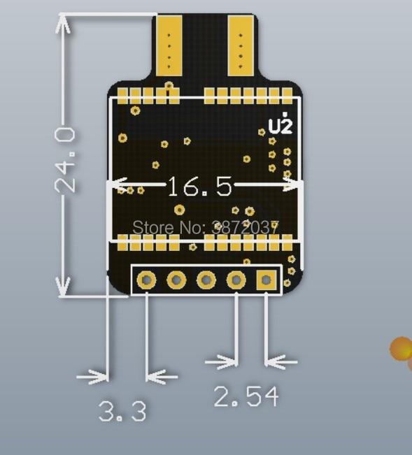 FZ3171-ATGM332D GPS Module-