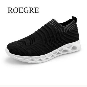 Socks Shoes Lightweight Mens Casual Shoes Fashion Sneakers Breathable Shoes Mens Trainers Shoes Zapatillas Hombre Deportiva 48
