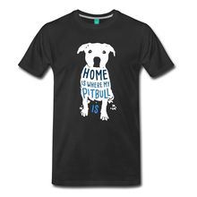 "Proud Pitbull Mom Shirt – ""Home Is Where My Pitbull Is"""