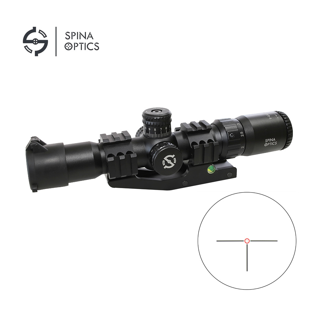 Spina Optical Sight 1-4x28 Tactical Rifle Scope With Dual Rail Mount for Hunting tactical military airsoft 1 5 4x28 rifle scope for hunting for shooting cl1 0165b