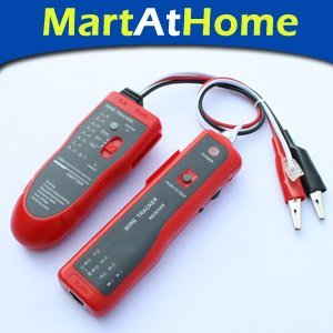 Free Shipping Network cable detector Tone Probe Kit RJ45 Port >=3km for Network Cable/Telephone Wires #CE051 @CF