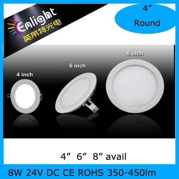 "Round 4"" SIZE,  8W LED Panel Light CE ROHS"