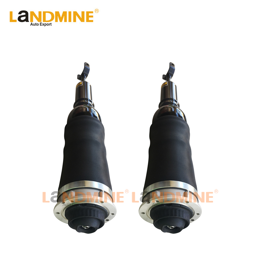 Livraison Gratuite 2 pcs Avant Air Printemps Suspension Pneumatique Amortisseur Fit Audi A6 Allroad C5 4BH 4Z7 616 051D
