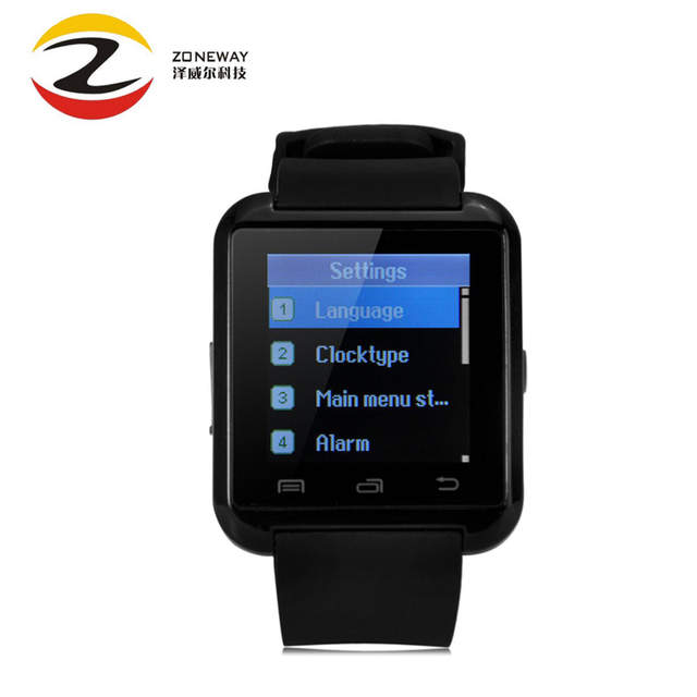 US $8 3 25% OFF|Bluetooth Watch U8 Smart watch WristWatch Smartwatch  digital sport watches for Apple IOS Android phone Wearable Electronic-in  Smart
