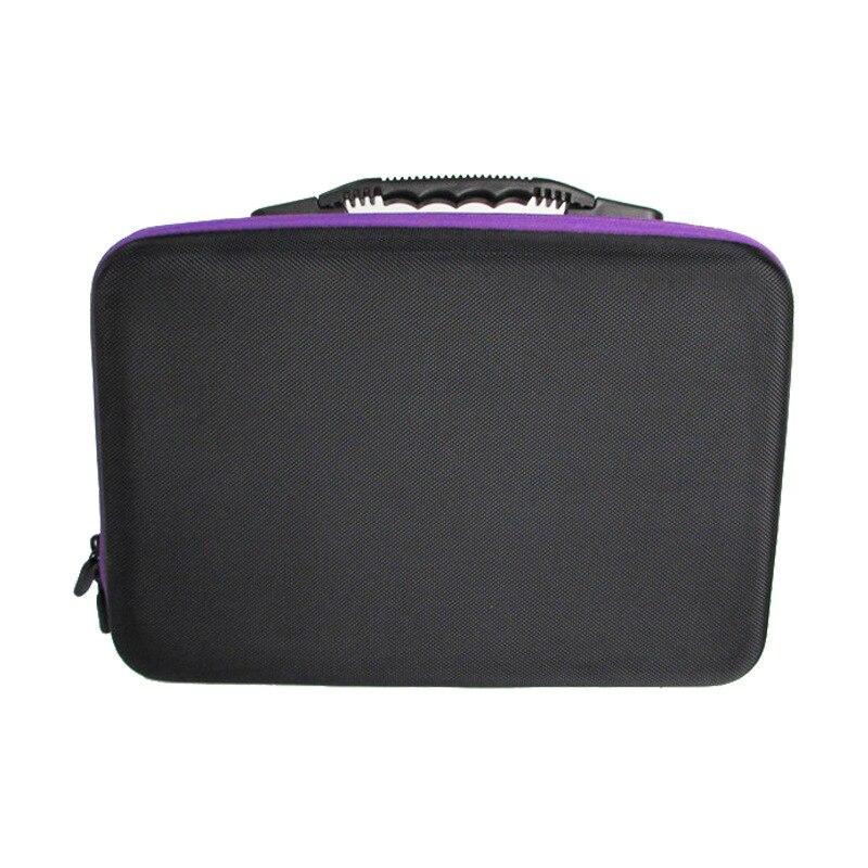 60 слотов Алмазная вышивка коробка алмазные аксессуары для рисования чехол прозрачные пластиковые бусины дисплей коробки для хранения инструменты для вышивки крестом - Цвет: purple