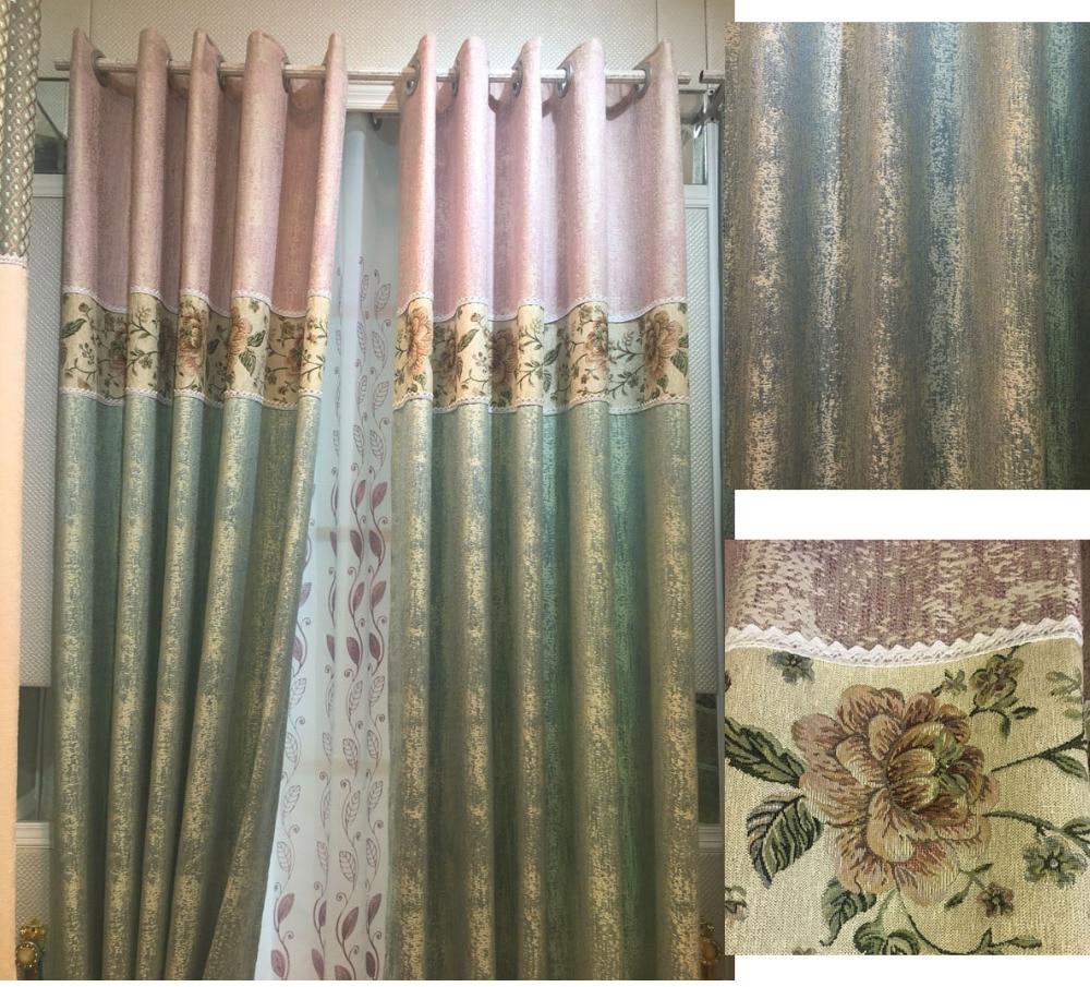 nuevas cortinas para el dormitorio sala de estar comedor simple chenille color de sombreado cortinas de tela