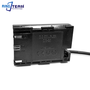 Image 5 - כוח בנק אספקת מחבר DC מצמד DR E6 LP E6 עבור Canon מצלמות EOS 5D2 5D3 5D4 5DS 5DSR 6D 6D2 7D 7D2 60D 60Da 70D 80D