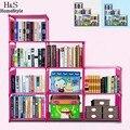 Homdox Moda Coreano Armazenamento Estante Estante Mobiliário de Casa Ajustável Estante com 9 Prateleiras de Livros