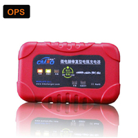 New Motorcycle Toy Car Dual LED Display 12V 2A Smart Lead Acid Battery Charger Repair Function