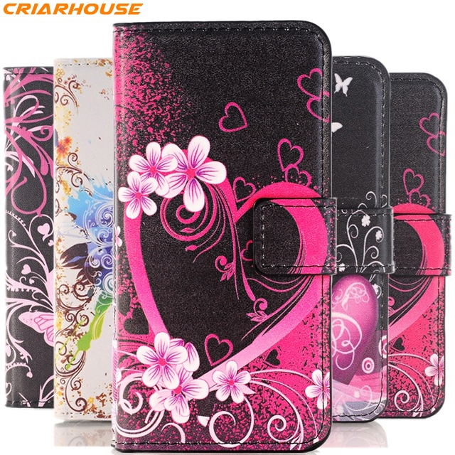 Cases, Covers & Skins The Cheapest Price Leather Case For Samsung Galaxy Grand Prime Core 2 Luxury Wallet Stand Cover Be Novel In Design