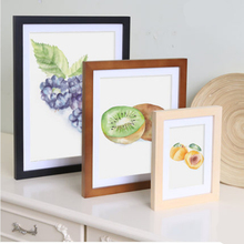 Childrens picture frame wood wall Set up photo Simple Home decoration 5/6/7/8/10/12 Inch