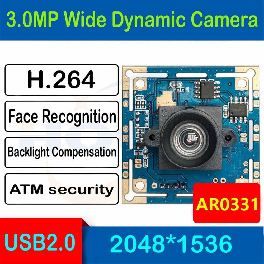 HQCAM 3.0megapixel 1/3 inch AR0331 Low illumination 0.01Lux CMOS H.264 AEC AEB AGC Support USB Camera module CCTV PCB BoardHQCAM 3.0megapixel 1/3 inch AR0331 Low illumination 0.01Lux CMOS H.264 AEC AEB AGC Support USB Camera module CCTV PCB Board